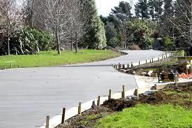 sydney plain concrete driveway